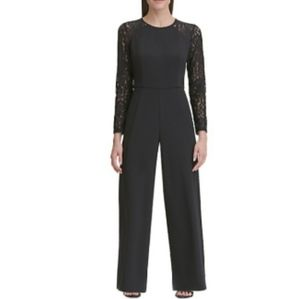 Tommy Hilfiger Jumpsuit Lace Sleeves